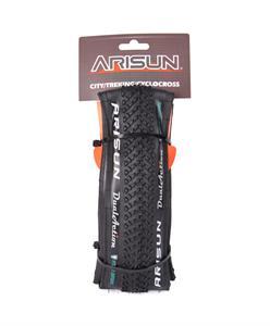 PNEU 700x33C ARISUN DUAL ACTION CYCLE-CROSS PRETO